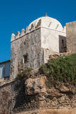 Mosque on the moroccan Atlantic Ocean coast Stock Photography