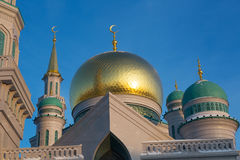Mosque in Moscow Stock Photos