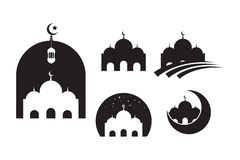 Mosque Moslem icon vector Illustration design template vector illustration