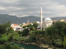 Mosque in Mostar Royalty Free Stock Photo