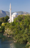 Mosque in Mostar, Bosnia and Herzegovina Royalty Free Stock Photography