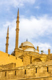The Mosque of Muhammad Ali in Cairo Stock Photos