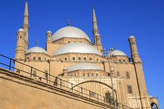 Mosque of muhammad ali in Cairo Royalty Free Stock Photos