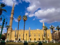 Mosque of Muhammad Ali in Cairo, Egypt royalty free stock photo