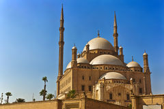 The Mosque of Muhammad Ali. Egypt. Cairo. The Saladin Citadel - the Mosque of Muhammad Ali (or Mohamed Ali Pasha, also known as the Alabaster Mosque royalty free stock photos