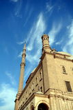 The Mosque of Muhammad Ali Pasha. Or Alabaster Mosque is a mosque situated in the Citadel of Cairo in Egypt and commissioned by Muhammad Ali Pasha between 1830 Royalty Free Stock Photo