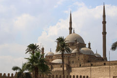 The Mosque of Muhammad Ali Pasha or Alabaster Mosque. Egypt. The great Mosque of Muhammad Ali Pasha or Alabaster Mosque. Egypt Royalty Free Stock Photos