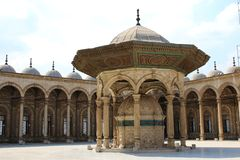 The Mosque of Muhammad Ali Pasha. Egypt. The great Mosque of Muhammad Ali Pasha or Alabaster Mosque. Egypt Royalty Free Stock Photo