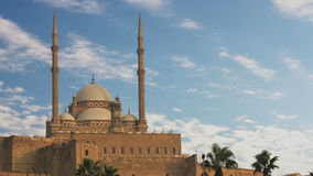 The Mosque of Muhammad Ali Pasha. Egypt. Time Lapse. stock video