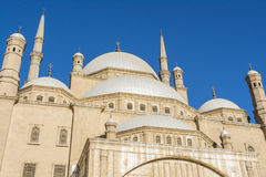 Mosque of Muhammad Ali, Saladin Citadel of Cairo, Egypt Stock Images