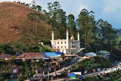 Mosque in Munnar Royalty Free Stock Images