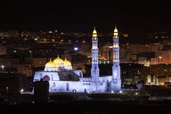 Mosque in Muscat, Oman Royalty Free Stock Photo