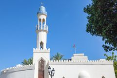 Mosque in mutrah, oman. A mosque in Mutrah Muscat in Oman Royalty Free Stock Images