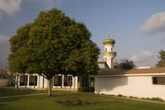 Mosque at Nabi Umran tomb, Salalah, Oman Royalty Free Stock Photography