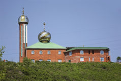 Mosque in Nakhodka. Primorsky Krai. Russia Royalty Free Stock Photo