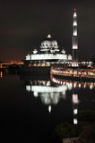 Mosque In Night Royalty Free Stock Photo
