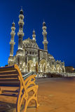 Mosque. At night in Baku Azerbaijan Stock Photos