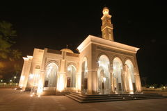 Mosque at Night Royalty Free Stock Images