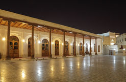 Mosque at night. Doha, Qatar Stock Photography