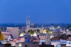 Mosque at night at Mandawa town Royalty Free Stock Image