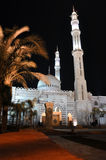 Mosque at night. Sharm El Sheikh. Egypt Stock Photography