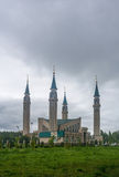 The mosque in Nizhnekamsk town (Tatarstan, Russia) Stock Photography