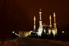 Mosque NUR ASTANA in Astana, Kazakhstan Royalty Free Stock Photography