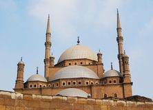 The mosque oa Mohammad Ali royalty free stock images