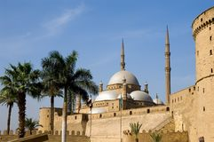 Mosque Of Mohamed Ali And Saladin Citadel Royalty Free Stock Images