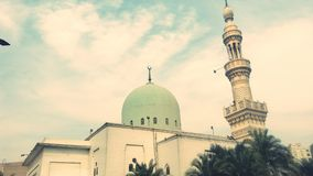 Mosque. Old and cool with new color Stock Image