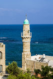 Mosque in old jaffa Stock Photos
