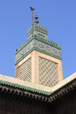 Mosque in old Medina of Fes, Morocco Stock Photo