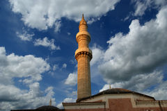 Mosque in Old Town, Rhodes, Greece Stock Photo