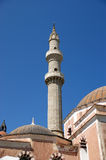Mosque in Old Town, Rhodes, Greece Stock Photography