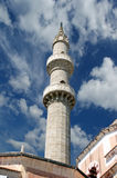 Mosque in Old Town, Rhodes, Greece Royalty Free Stock Photos