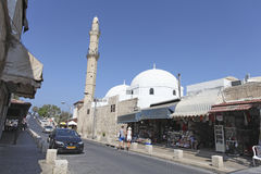 Mosque in Old Yaffo, Israel Stock Image