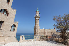 Mosque in Old Yaffo, Israel Stock Photography