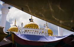 mosque pearls 图库摄影