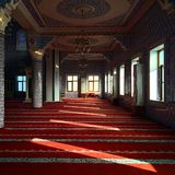 Mosque prayer place Royalty Free Stock Image