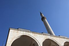 Mosque in Prizren, Kosovo Royalty Free Stock Photography