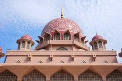 Mosque of Putrajaya, Malaysia. Putra Mosque is the principal mosque of Putrajaya, Malaysia Stock Photography