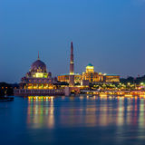 Mosque in Putrajaya, Malaysia Royalty Free Stock Photography