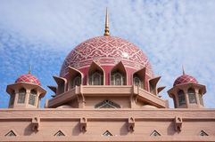 Mosque of Putrajaya Royalty Free Stock Photography