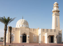 Mosque in Qatar stock photography