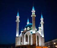 Mosque Qol Sharif in the Kazan Royalty Free Stock Photo