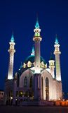 Mosque Qol Sharif in Kazan Stock Photos