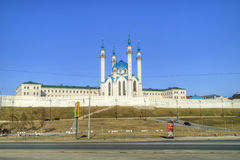 Mosque of Qolşarif. Kazan Royalty Free Stock Photo