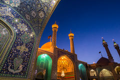 Mosque in Qom stock photography