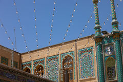 Mosque in Qom, Iran Stock Photos