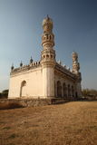 Mosque at Qutb Shahi Tombs. Mosque on the site of the Qutb Shahi Tombs, Near the Golconda fort, Hyderabad, Andhra Prades, India Stock Images